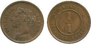 1/4 Piastre British Cyprus (1914–1960)  Victoria (1819 - 1901)