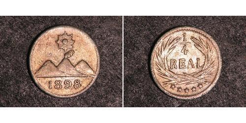 1/4 Real Guatemala Silber