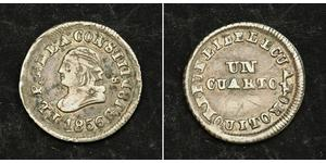 1/4 Real / 1 Quarto Ecuador Plata