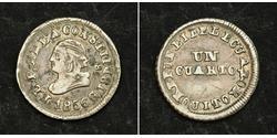 1/4 Real / 1 Quarto Ecuador Silver