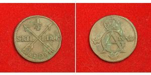 1/4 Skilling Sweden Copper Gustav IV Adolf of Sweden (1778 - 1837)