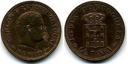 1/4 Tanga Индия португальская (1510-1961) Бронза