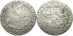 1/4 Thaler República de las Dos Naciones (1569-1795) Plata Sigismund III