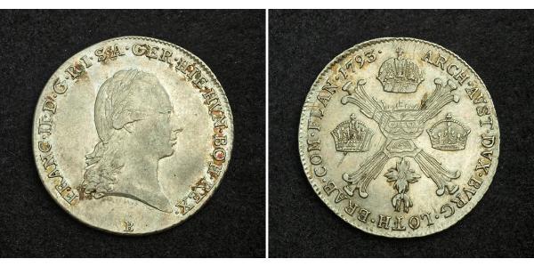 1/4 Thaler Heiliges Römisches Reich (962-1806) Silber Francis II, Holy Roman Emperor (1768 - 1835)