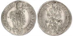 1/4 Thaler Salzburg Silber Johann Ernst von Thun und Hohenstein