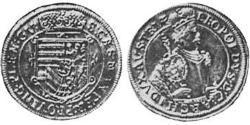 1/4 Thaler Alsace Silver Leopold V, Archduke of Austria (1586 – 1632)
