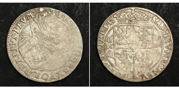 1/4 Thaler Polish-Lithuanian Commonwealth (1569-1795) Silver Sigismund III of Poland