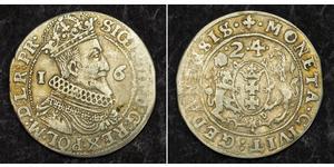 1/4 Thaler Polish-Lithuanian Commonwealth (1569-1795) / Gdansk  (1454-1793) Silver Sigismund III of Poland