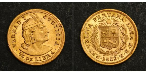 1/5 Libra Peru Gold