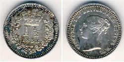 1.5 Penny United Kingdom Silver Victoria (1819 - 1901)