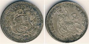 1/5 Sol Peru Silver