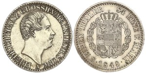 1/6 Thaler States of Germany Argent