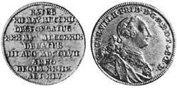 1/6 Thaler Principality of Ansbach (1398–1792) Silver Charles William Frederick, Margrave of Brandenburg-Ansbach (1712 – 1757)