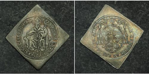 1/6 Thaler Salzburg Silver