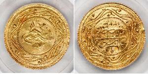 1 Altin Empire ottoman (1299-1923) Or
