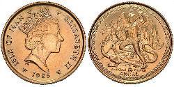 1 Angel Isle of Man Gold Elizabeth II (1926-)