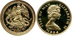 1 Angel Isle of Man Gold