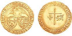 1 Angel Kingdom of France (843-1791) Gold Heinrich VI (1421-1471)