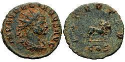 1 Antoninian Römische Kaiserzeit (27BC-395) Bronze Aurelian (215-275)
