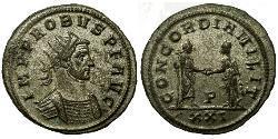 1 Antoninian Römische Kaiserzeit (27BC-395) Silber Probus (232-282)
