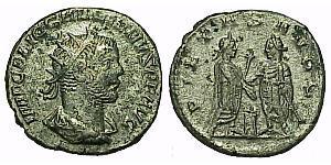 1 Antoninian Römische Kaiserzeit (27BC-395) Silber Valerian I (193-260) / Gallienus (218-268)