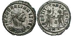 1 Antoninian Römische Kaiserzeit (27BC-395) Silber/Kupfer Aurelian (215-275)