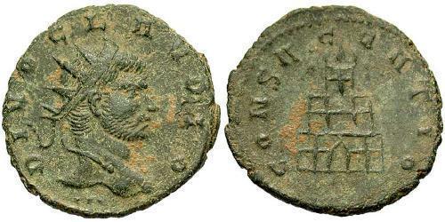 1 Antoninian Römische Kaiserzeit (27BC-395)  Claudius II Gothicus (213-270)
