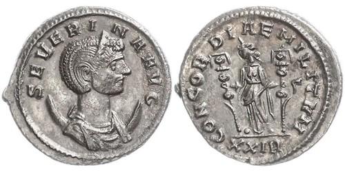 1 Antoninian Römische Kaiserzeit (27BC-395)  Ulpia Severina (?-?)