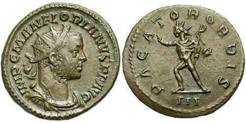 1 Antoninian Römische Kaiserzeit (27BC-395)  Florian (?-276)
