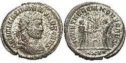 1 Antoniniano Imperio romano (27BC-395) Bronce Galerio Maximiano (260-311)