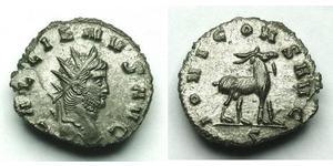 1 Antoniniano Imperio romano (27BC-395) Bronce Galieno (218-268)