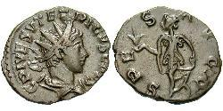 1 Antoniniano Impero delle Gallie (260-274) Bronzo Tetrico  II (?-?)
