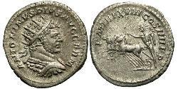 1 Antoniniano Imperio romano (27BC-395) Plata Caracalla (188-217)