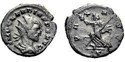 1 Antoniniano Imperio romano (27BC-395) Plata Claudio II (213-270)