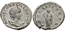 1 Antoniniano Imperio romano (27BC-395) Plata Herennia Etruscilla (249-251)