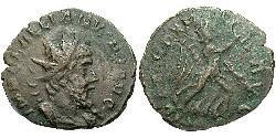 1 Antoniniano Imperio Galo (260-274) Vellón Plata Leliano (?-269)