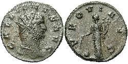 1 Antoniniano Impero romano (27BC-395)  Gallieno (218-268)