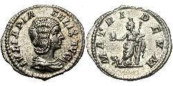1 Antoninianus 羅馬帝國 銀 尤利亞·多姆娜