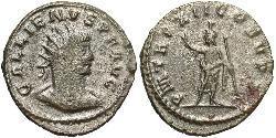 1 Antoninianus Roman Empire (27BC-395) Billon Gallienus (218-268)