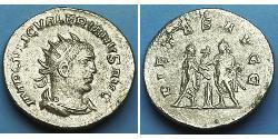 1 Antoninianus Roman Empire (27BC-395) Silver Gallienus (218-268) / Valerian I (193-260)