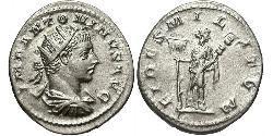 1 Antoninianus Roman Empire (27BC-395) Silver Elagabalus (203-222)