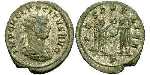 1 Antoninianus Roman Empire (27BC-395) Silver Tacitus (200-276)