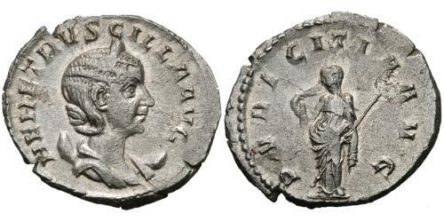 1 Antoninianus Roman Empire (27BC-395) Silver Herennia Etruscilla (249-251)