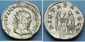 1 Antoninien Empire romain (27BC-395) Argent Valérien I (193-260) / Gallien (218-268)