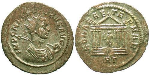 1 Antoninien Empire romain (27BC-395) Argent/Cuivre Probus (232-282)