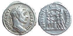 1 Argenteus Römische Kaiserzeit (27BC-395) Silber Diocletian (244-311)