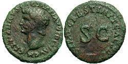 1 As Imperio romano (27BC-395) Bronce Germánico (15 BC-19AD)