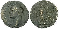 1 As Roman Empire (27BC-395) Copper Marcus Vipsanius Agrippa (63 BC-12BC)