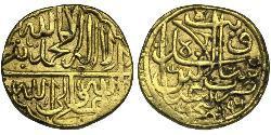 1 Ashrafi Safavid dynasty (1501-1736) / Іран Золото