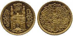 1 Ashrafi Indien Gold